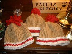 Ravelry: Sock Monkey Sock Hats pattern by Paula Gaumer Tooke