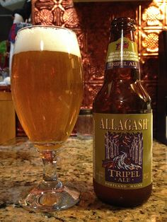 Tripel by Allagash Brewing Company; Portland, ME.