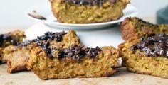 pumpkin protein bread #breakfask