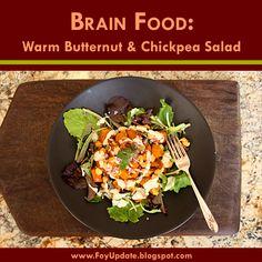 Foy Update: Brain Food - Warm Butternut Chickpea Salad - Recipe | The ...