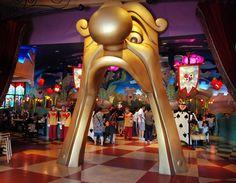 Alice restaurant at Tokyo Disneyland