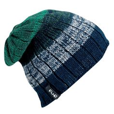 You'll want to wear the Get a Jobe like it's your job once you feel the soft, ribbed knit and full fleece lining of the interior. This laid-back slightly-slouchy hat is perfect for the no-frills guy who wants to still look unique while staying casual. Horizontal stripes of color wrap around the exterior with varying thickness, giving the pattern depth. The distressed patches of varying hues pay homage to a jersey knit with the warmth of a thick knit hat instead.