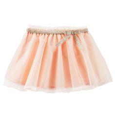 Baby Girl Soft Sparkle Tulle Skirt | OshKosh.com