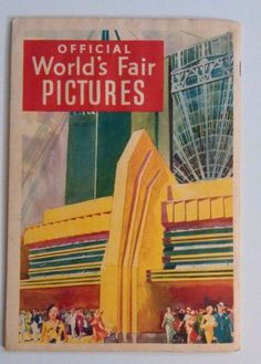 Vintage 1933 Chicago World's Fair Official Pictures Book A Century Of Progress http://www.medusamaire.com/my-ebay-items/ to see all of my items for sale!