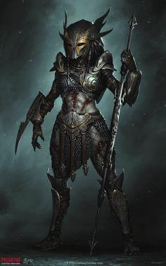 Predator Costume, Predator Cosplay, Predator Hunting, Alien Vs Predator, Aliens, Female Yautja, World Of Warriors, Halloween Fairy, Alien Art