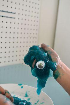 slime maken met psylliumvezels (dus zonder borax) – bij boef+mop Rook