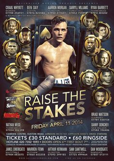 Raise the Stakes - design by KnockoutPosters.com