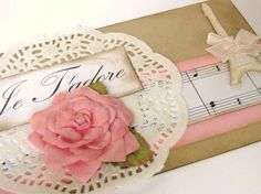 shabby chic gift wrapping