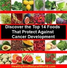 Discover the Top 14 Foods That Protect Against Cancer Development | Healthy and Natural World