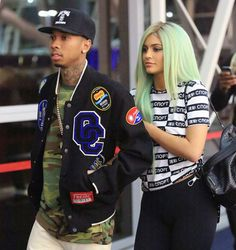 September 17, 2015 Kylie and Tyga arriving at the airport