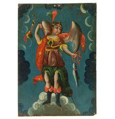 San Rafael Arcangel Retablo
