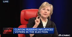 HILLARY: I LOST THE ELECTION BECAUSE OF INFOWARS AND WIKILEAKS  Clinton still blaming everyone apart from herself seven months later