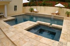small outdoor pools and spas   Small Pools