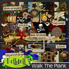 Walk The Plank by Kellybell Designs