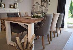 Esstisch, DIY , Wohnzimmer Landhaus Ikea, Decoration, Life Is Beautiful, Dining Table, Design, House Ideas, Furniture, Home Decor, Farmhouse