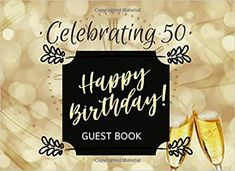 Guest Book 60th Birthday Lights Celebration Anniversary Party Sign in Guest Book Log Keepsake Notebok Family Friend to Write in