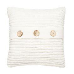 Catherine Lansfield Chunky Knit Cushion Cover, Polar