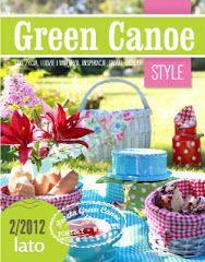 Chickpea Cafe: Today I like you - Green Canoe, Free Magazines, Canoe, Make It Simple, Artsy, Crafty, Table Decorations, Handmade, Inspiration, Home Decor