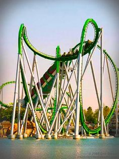 Incredible Hulk Roller-coaster in Universal's Islands of Adventure, Orlando