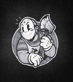 Horrortoon 2 by Winter-artwork on DeviantArt Horrortoon 2 por Winter-artwork em DeviantArt Cartoon Tattoos, Cartoon Drawings, Cartoon Art, Cartoon Brain, Penguin Cartoon, Batman Cartoon, Ghost Cartoon, Cartoon Turtle, Cartoon Unicorn