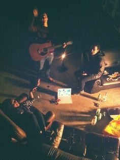 Rooftop nights in #Sydney. Worship Jesus, hang out with friends. Arrigo Reuss, Ben Snell and Victoria Yarka. #riverboundproject