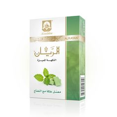 ALRAYAN Premium Gum with Mint Hookah Tobacco.