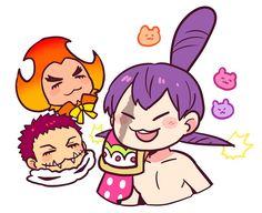 One Piece Big Mom, One Piece Funny, One Piece Ace, Cracker One Piece, One Piece Images, One Piece Fanart, Anime Neko, Cute Comics, Cute Pictures