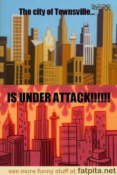 the city of townsville....
