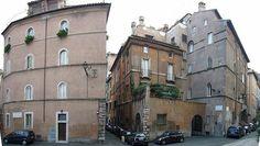 Vía Giulia, casa Sangalletti. Roma Italia