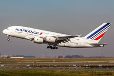 Air France, Air Inter, Nice Cote D Azur, Jumbo Jet, Passenger Aircraft, Airbus A380, Wide Body, Concorde, Viajes