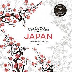 Vive Le Color Japan Coloring Book In De Stress