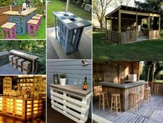 Pallet Bar Inspiration and Tutorials on our site