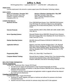 Sample Resume Network Administrator   Http://resumesdesign.com/sample Resume