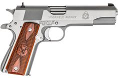 SPRINGFIELD 1911-A1 MIL-SPEC 45ACP STAINLESS STEELLoading that magazine is a pain! Save those thumbs & bucks w/ free shipping on this handgun magazine loader i got mind at  http://www.amazon.com/shops/raeind