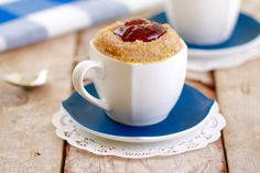 Microwave Jelly Donut in a Mug: Mugnut (Microwave Mug Meals)