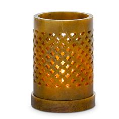 Brighter Home™ by PartyLite Soapstone Tealight Holder Les Artisans, Candle In The Wind, Bright Homes, Shops, Soapstone, Tea Light Holder, Artisanal, Home Decor Items, Pillar Candles