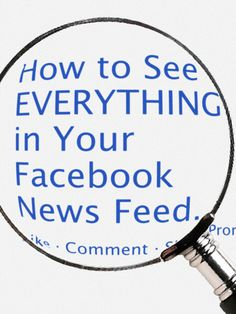 By default, you only see posts from friends that Facebook selects for you. Here's how to see posts from everyone.