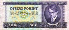 500-ft-os Ady Endrével Hungary, Budapest, Flag, Retro Games, Banknote, Money, Inspiration, History, Country