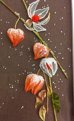 Wonderful Ribbon Embroidery Flowers by Hand Ideas. Enchanting Ribbon Embroidery Flowers by Hand Ideas. Brazilian Embroidery Stitches, Types Of Embroidery, Hand Embroidery Stitches, Silk Ribbon Embroidery, Embroidery Hoop Art, Hand Embroidery Designs, Embroidery Ideas, Lesage, Embroidery For Beginners