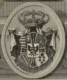 Coat of Arms of Archduke Maximilian Francis of Austria (1756-1801), Grand Master of the Teutonic Order.