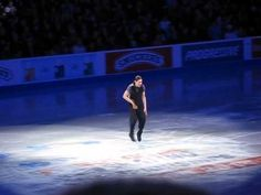 Jason Brown Does The Hammer Shuffle On Ice…this is how Olympic ice skating should be….fun!