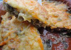 Pastel mallorquín de berenjenas con carne picada