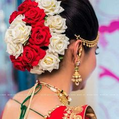 New wedding hairstyles indian taken before Ideas - All For Bridal Hair Bridal Hairstyle Indian Wedding, Bridal Hair Buns, Bridal Hairdo, Indian Bridal Hairstyles, Wedding Hairstyles For Long Hair, Bridal Pics, Saree Hairstyles, Bride Hairstyles, Brunette Hairstyles