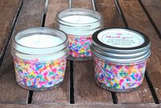 Bulk Baby Shower Candle Favors Rainbow Baby Sprinkle Candles | Etsy