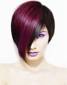 Large image of medium black straight hairstyles provided by HOB Salons. Picture Number 13433