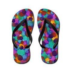 Lux Flip Flops by Erin Jordan