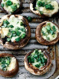 Fırında sarımsaklı mantar Tarifi - Türk Mutfağı Yemekleri - Yemek Tarifleri