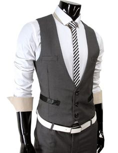 TheLees (TLV1) Mens Business Slim fit... for only $31.19