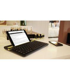 Logitech Bluetooth Multi-Device Keyboard K480 Black