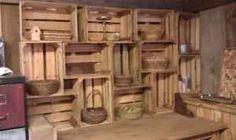 Beautiful cellar storage idea or garage idea.